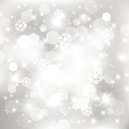 twinkling: Glittery silver abstract Christmas background.