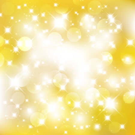 Glittery golden abstract Christmas background.