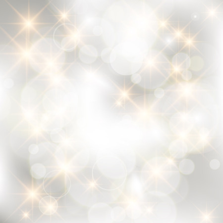 Glittery silver abstract Christmas background.