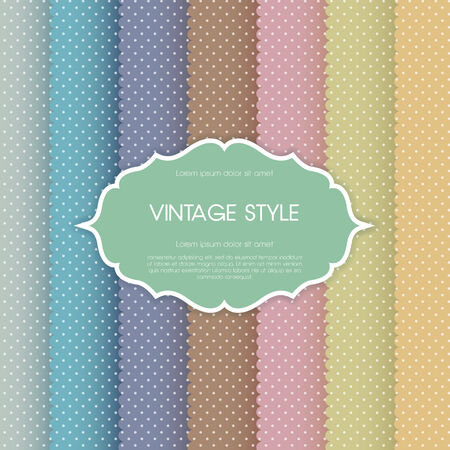 Elegant vintage card. For vector version, see my portfolio. Stock Vector - 24976853