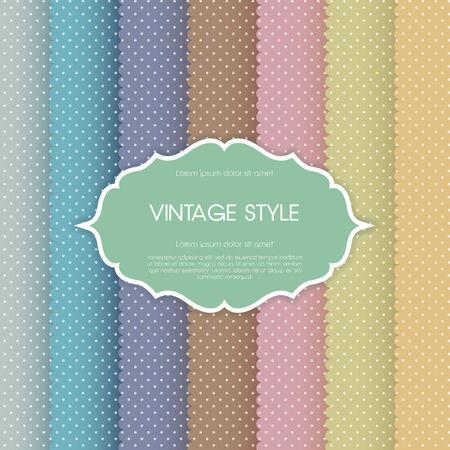 Elegant vintage card. For vector version, see my portfolio.  Vector