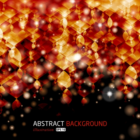 Abstract glowing illustration background. For vector version, see my portfolio.  Vector