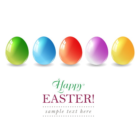 paschal: Easter eggs background with elegant.