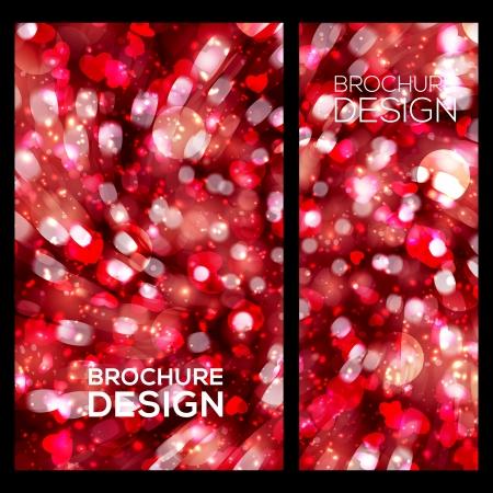 Zakelijke brochure sjabloon. Stock Illustratie