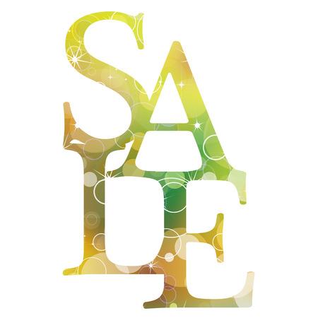 Beautiful glittering sale background