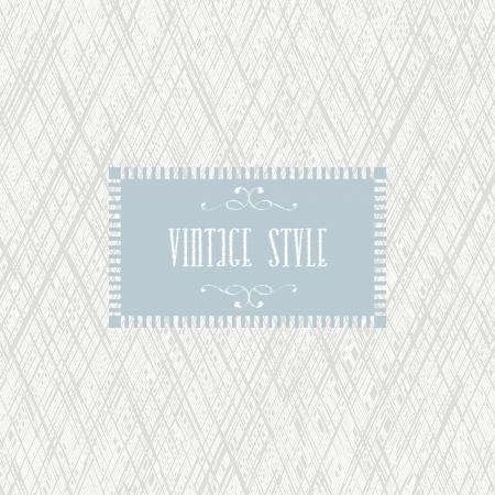 invitaci�n vintage: Dise�o de tarjeta de invitaci�n retro vintage. Vectores