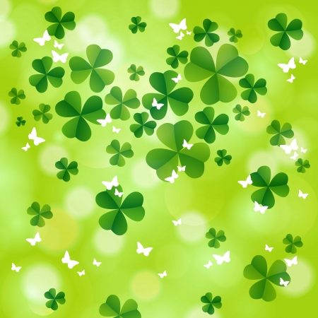 St. Patrick`s day background.  Vector