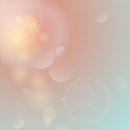 Beautiful abstract background with dreamy soft faded colors.  Vector