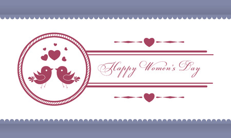 Wedding card or invitation with floral ornament background. Thank you card. Perfect as invitation or announcement. Vector