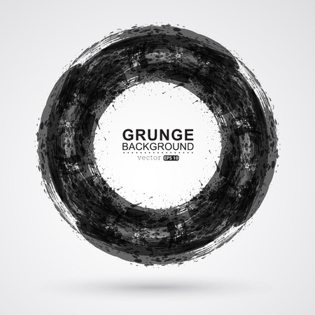 Grunge frame background. Ilustração
