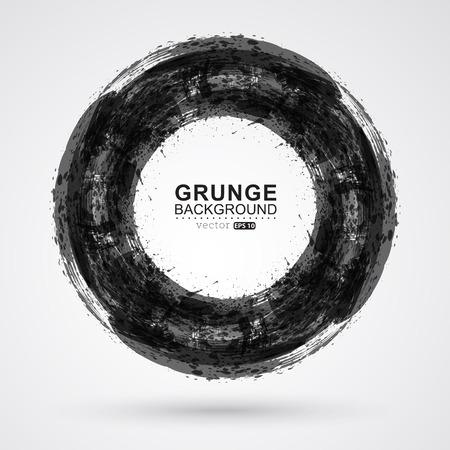 Grunge frame background. Illustration