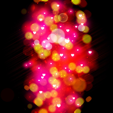 solemn: Glittery lights abstract holiday background. Illustration
