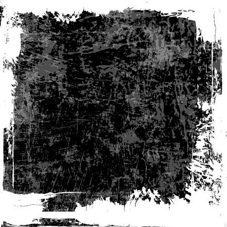 Grey grunge textured wall. White grunge frame.