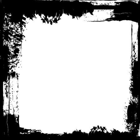 흰색 공간을 가진 그런 지 프레임. 스톡 콘텐츠 - 26206948