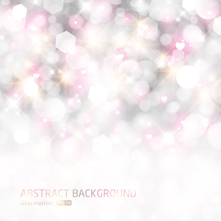 glittery: Glittery lights abstract holiday background. Illustration