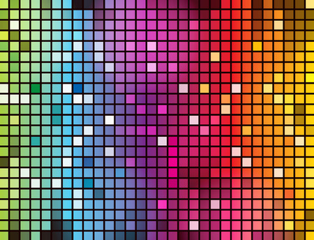Abstract glowing illustration background Vector
