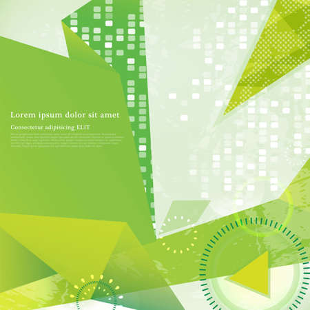 print media: Abstract background Illustration
