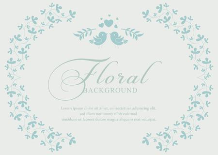 Bridal shower invitation card. Vector