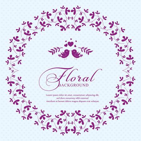 Bridal shower invitation card. Perfect as invitation or announcement.