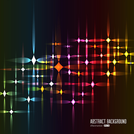 Abstract lights background. Vector