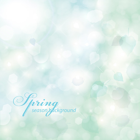 Elegant spring background. Vector
