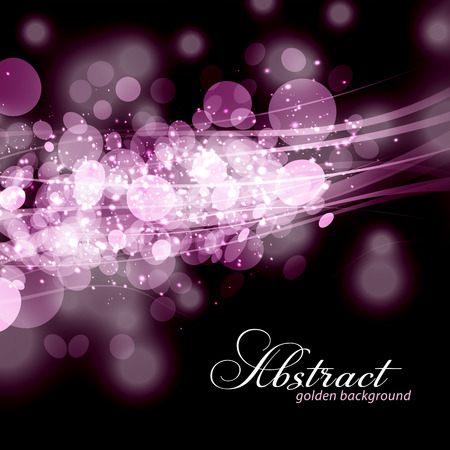 Elegant abstract light background. Vector