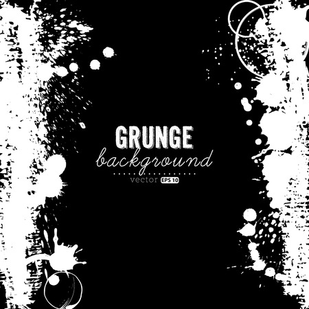 with space for text: Abstract grunge background with space for your text. Illustration