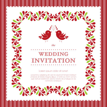 solemn: Wedding invitation template. Perfect as invitation or announcement.