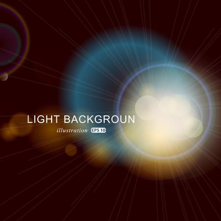 brightness: Fantastic background with many brightness. Illustration