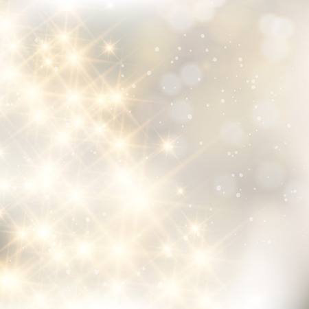 Glittery lights silver abstract Christmas background. 일러스트