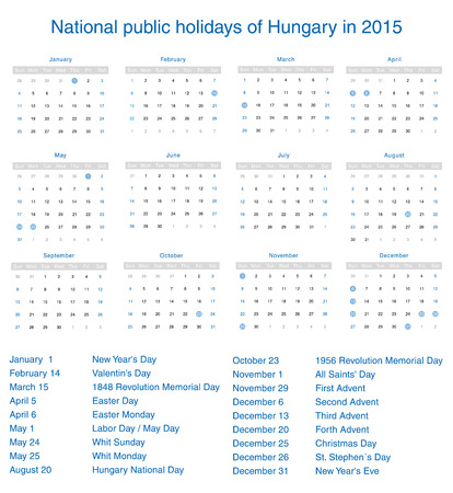 National Public Holidays Of Denmark In 2015 Template Design