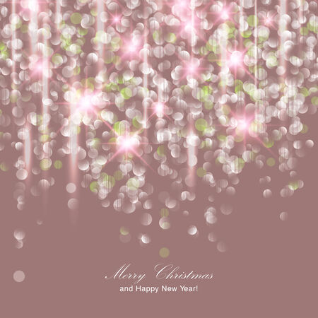 amazing wallpaper: Festive Christmas background with sparking and place for text.