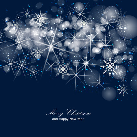 Silver sparkle glitter background. Sparkling flow background. Stock Illustratie