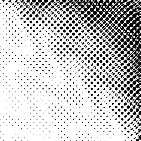 Abstract halftone textures. Vector