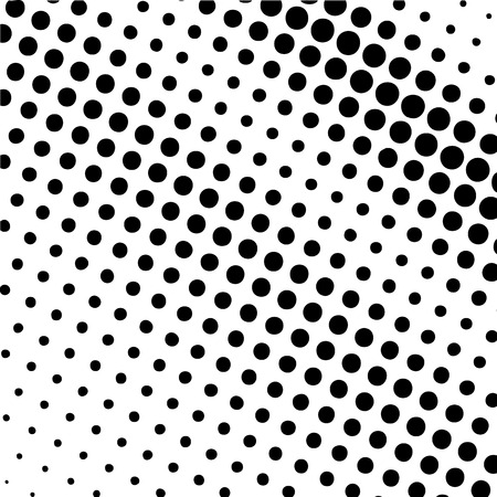 optical image: Abstract halftone textures.