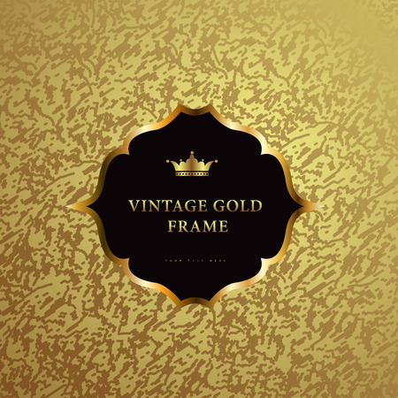 crown of light: Luxury vintage background. Perfect as invitation or announcement.