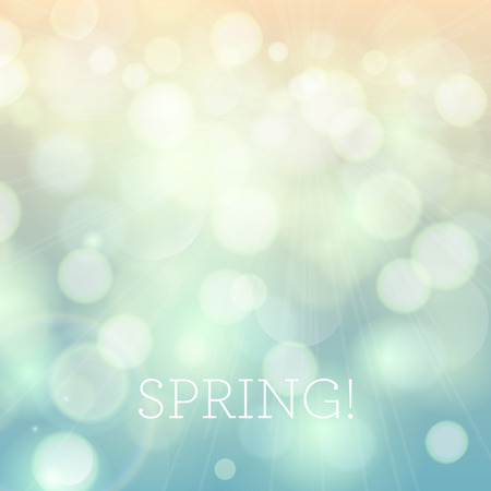 morning dew: Illustration of soft colored abstract background. Bright spring background.