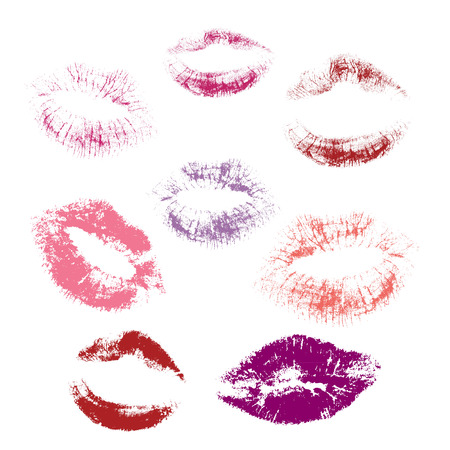 Collection of lips illustration. Illustration
