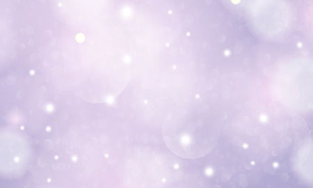 Abstract bokeh in purple tone. Festive, vintage background with defocused lights template.