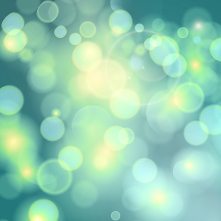 Green sunny good mood spring background. Abstract background. Vector