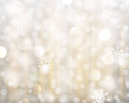 gold christmas background: Abstract glowing illustration background