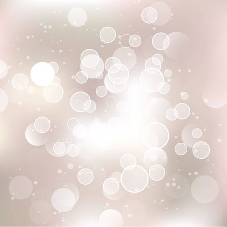 solemn: Glittery lights silver abstract Christmas background. Illustration