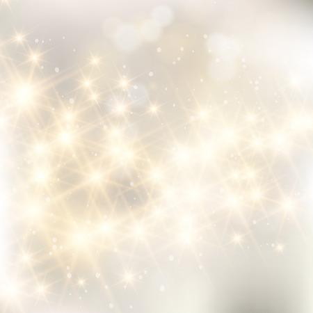 Światła: Glittery świeci srebrny abstrakcyjne Boże Narodzenie.
