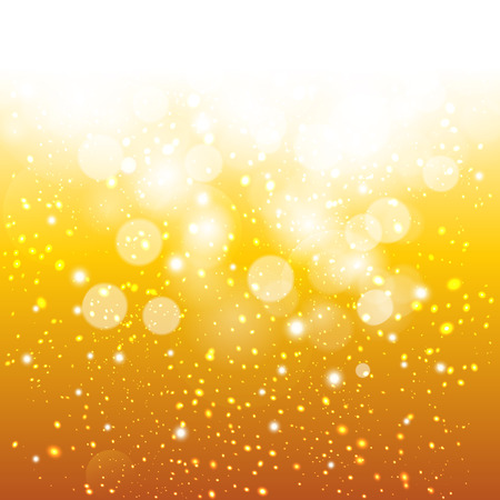 champagne: Glittery gold background. Illustration