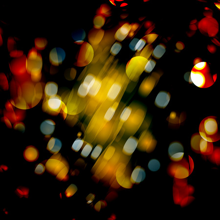 blurred lights: Abstract background with blurred defocused lights.