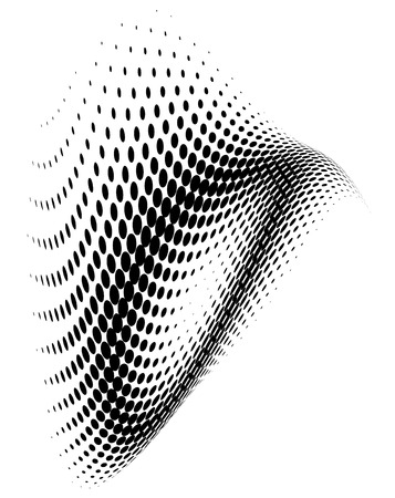 dotted background: Abstract dotted background. Halftone effect.