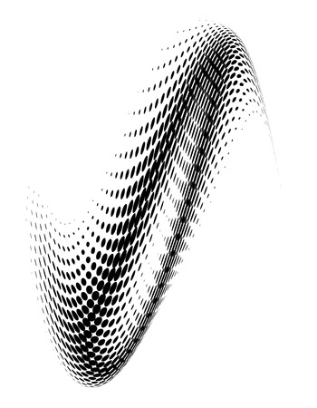 Abstract dotted background. Halftone effect.