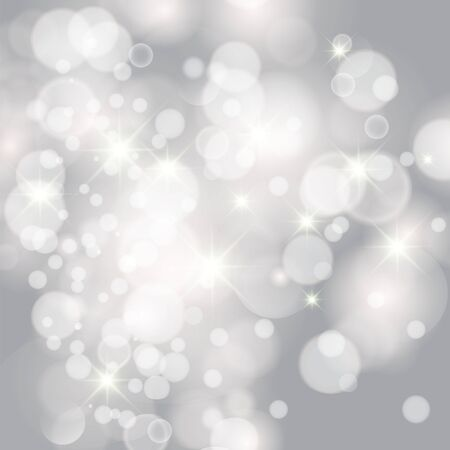 glittery: Glittery lights silver abstract background.