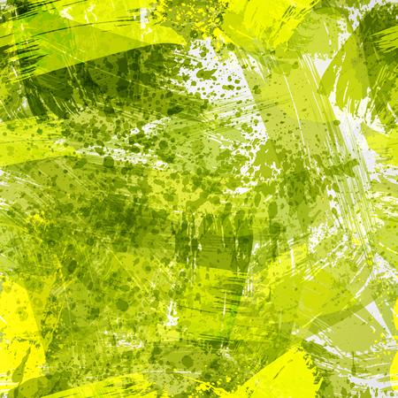 Abstract borstel naadloos patroon. Hand getrokken textuur met penseelstreken. Stock Illustratie