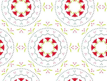 Elegant abstract seamless ornament pattern. 矢量图像